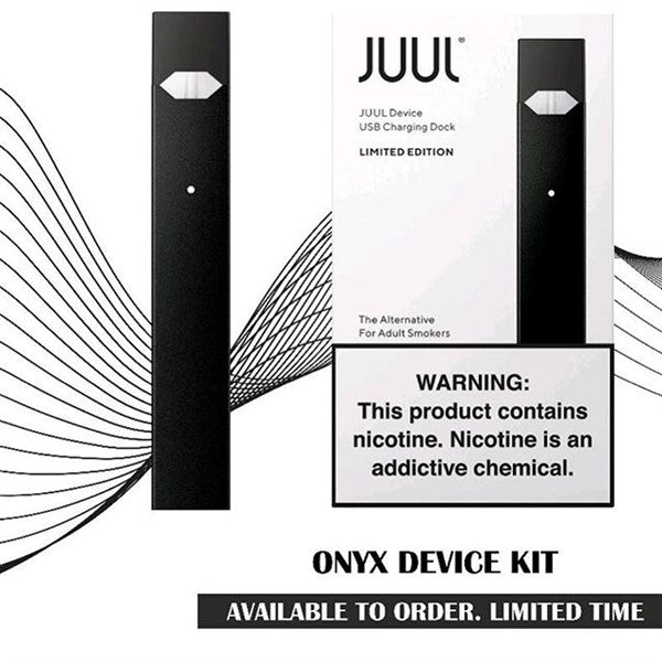 JUUL BASIC KIT ONYX LIMITED EDITION