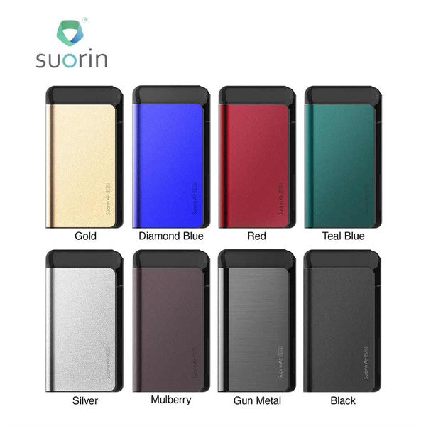 SUORIN AIR PLUS 930MAH 3.5ML REFILLABLE POD SYSTEM STARTER KIT