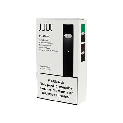 JUUL STARTER KIT WITH 2 X 0.7ML PREFILLED PODS