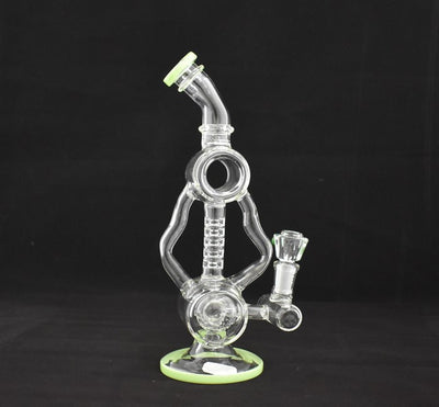 ROCKET PERC MICROSCOPE OIL RIG WATER PIPE WP319