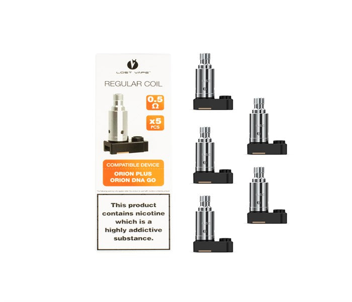 LOST VAPE ORION PLUS REPLACEMENT COILS - PACK OF 5