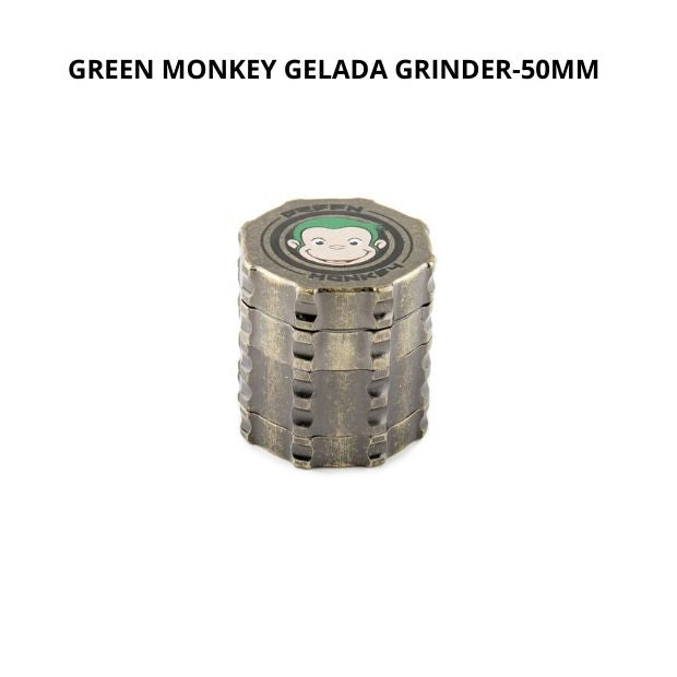 GREEN MONKEY GELADA GRINDER -- 50MM