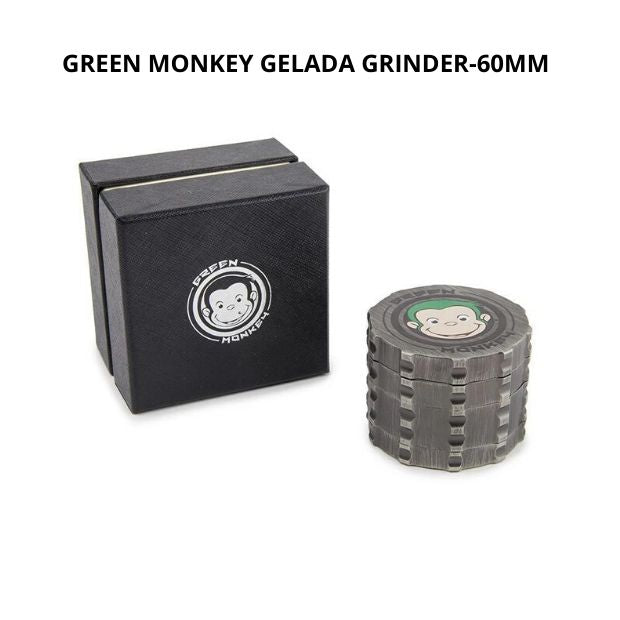 GREEN MONKEY GELADA GRINDER - 60MM