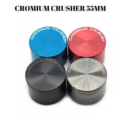 CHROMIUM CRUSHER 4PART GRINDER 55MM