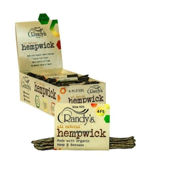 RANDY'S ALL NATURAL HEMPWICK