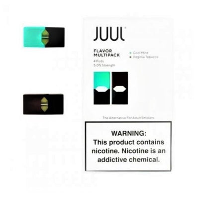 JUUL 2 POD MULTIPACK (MINT & VIRGINIA TOBACCO)