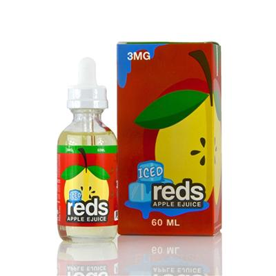 E-Liquid - Reds Apple EJuice Iced By 7 Daze 60ML