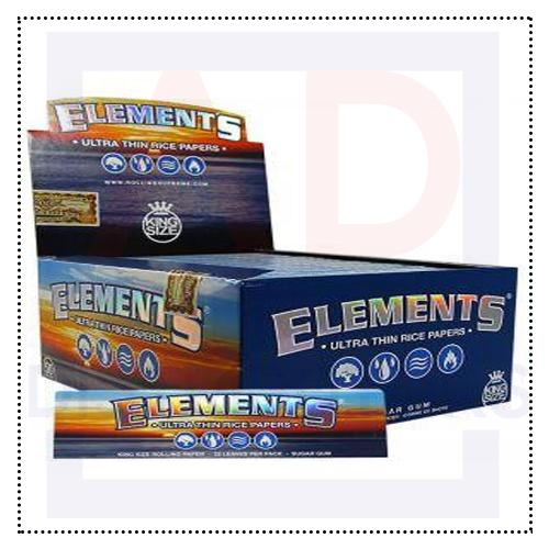Rolls & Wraps - Elements King Size Rolling Paper
