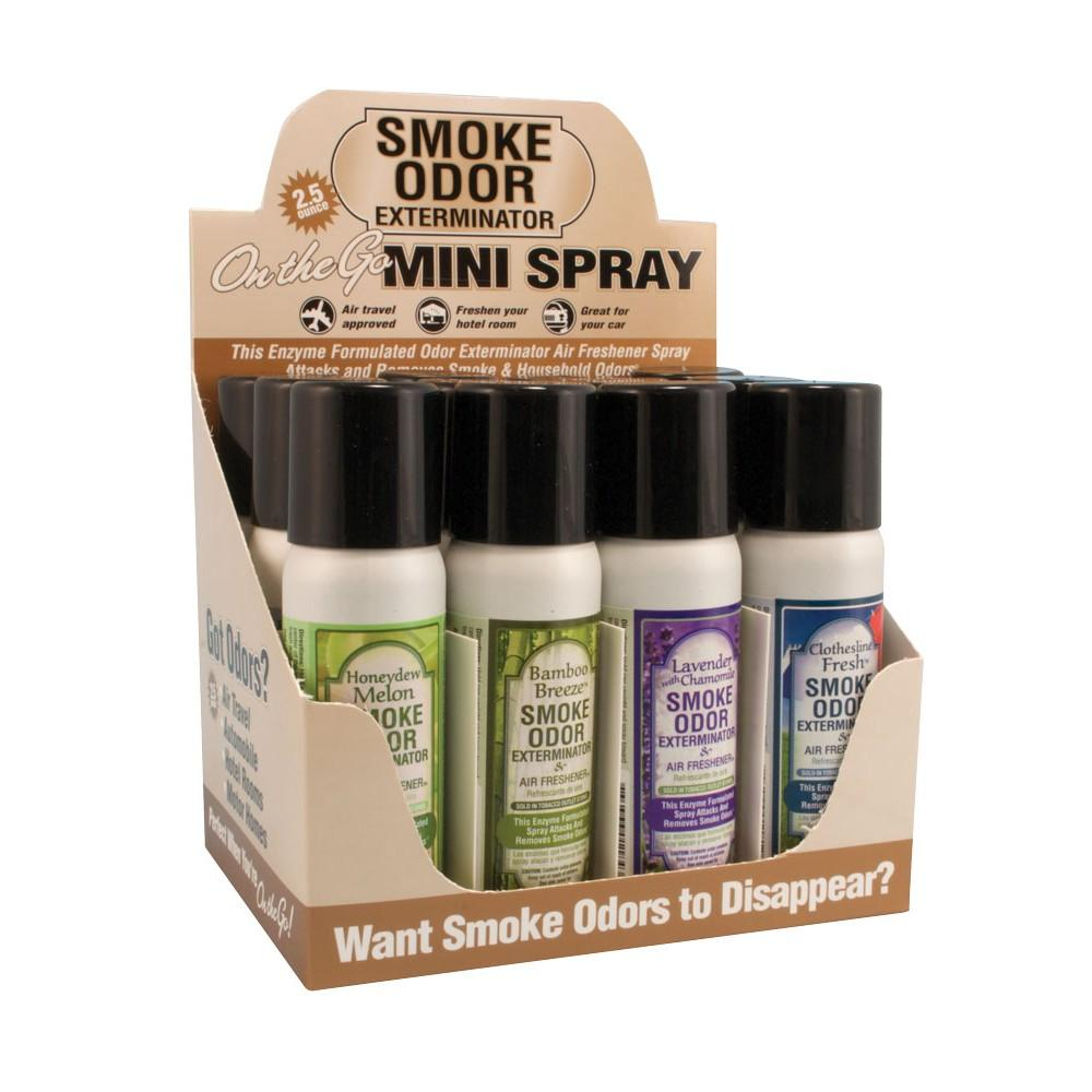 SMOKE ODOR EXTERMINATOR SPRAY - 2.5 OZ (MSRP $7.00)