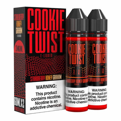 COOKIE TWIST E-LIQUID 120ML (2X60ML)