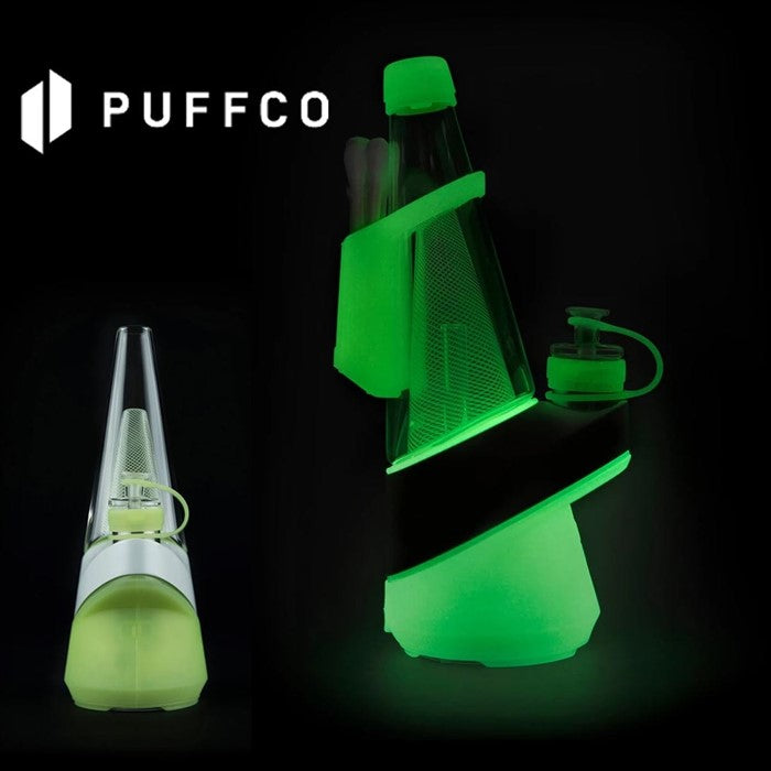 THE NEON LIGHTNING LIMITED EDITION PEAK SMART RIG BY PUFFCO