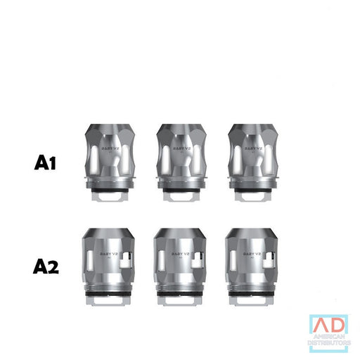 SMOK TFV8 BABY V2 REPLACEMENT COILS - PACK OF 3