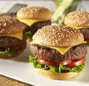 Angus Beef Burger 140 grs. each patty - pack of 4, 16 or 24 pieces