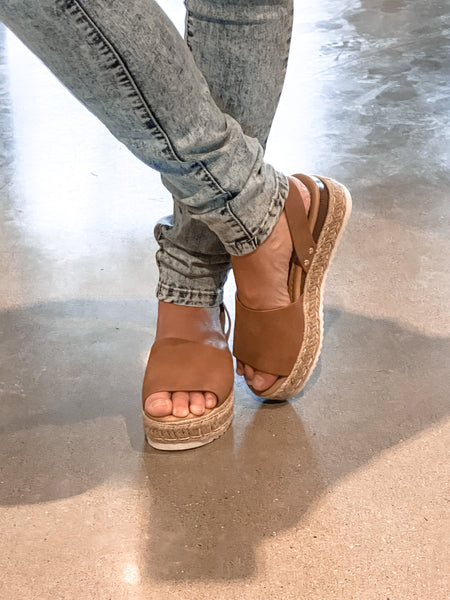 Gracie Tan Sandals