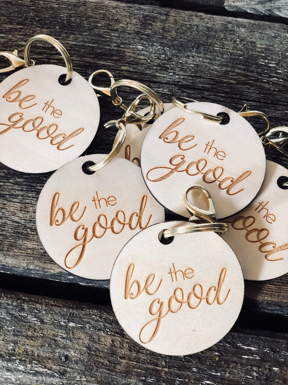 Be The Good Keychains