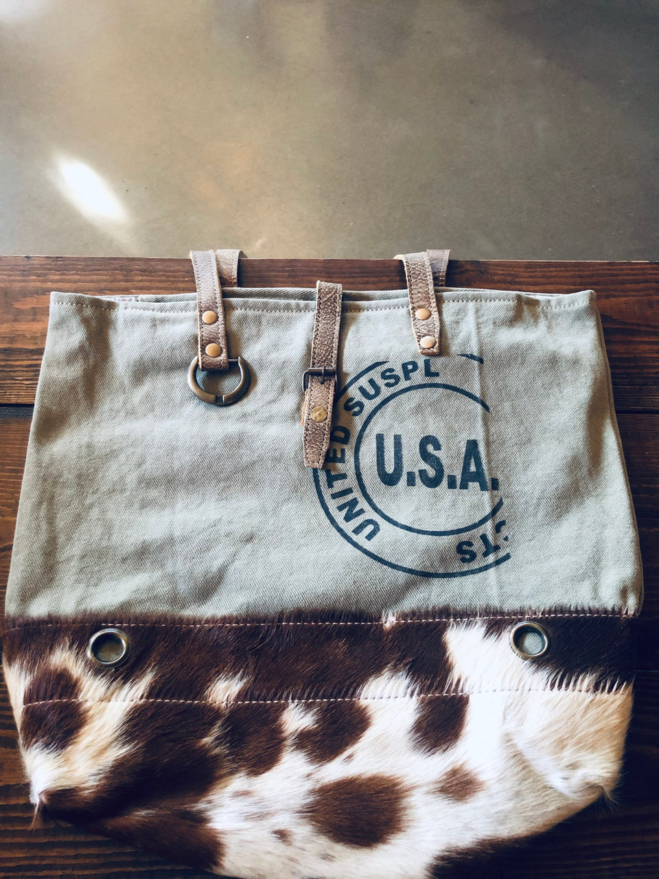Myra Bag - USA STAMP TOTE BAG