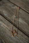 Jewelry - Rose Gold Letter Necklace