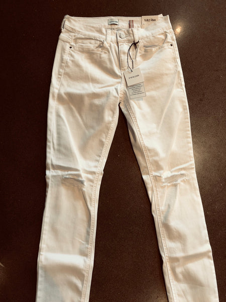 Emerson White Distressed Jean