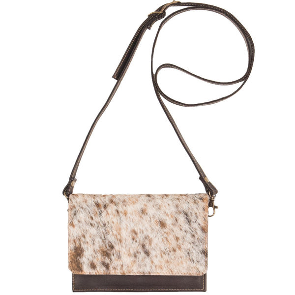 Georgia Hide Crossbody Clutch