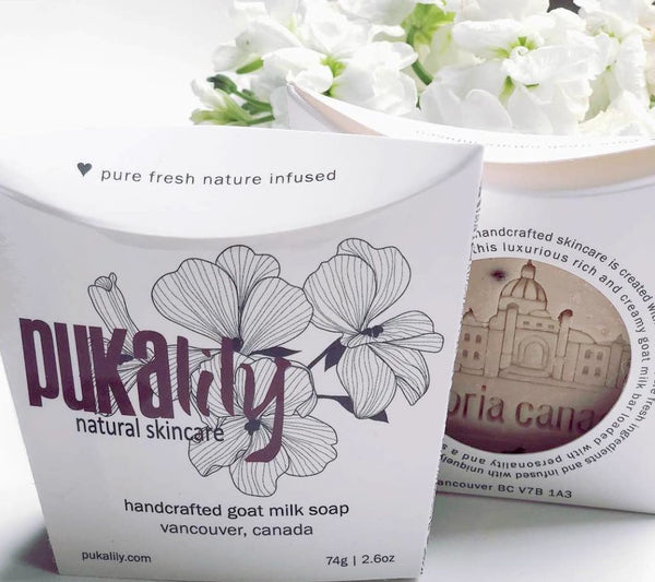Pukalily Round Goat Soap
