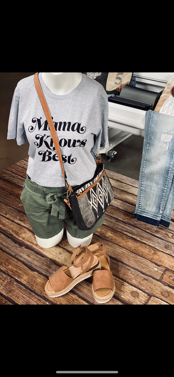 Mama Knows Best Graphic Tee