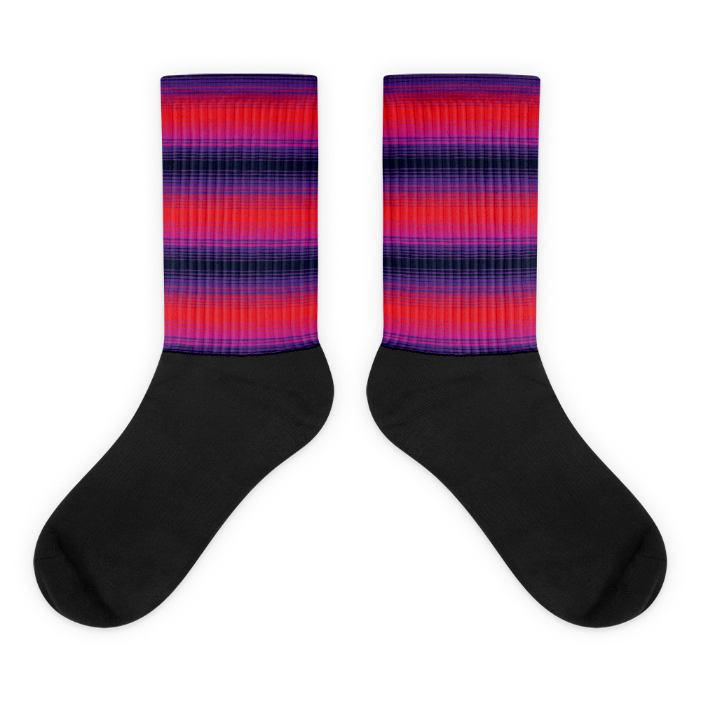 """ Castaic "" -  Graphic Sock"