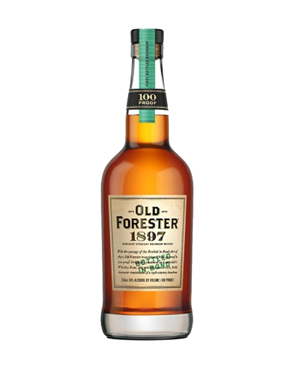 1897 Old Forester Straight Bourbon 750ml