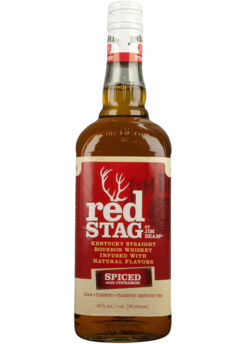RED STAG BOURBON SPICED CINNAMON 750ML