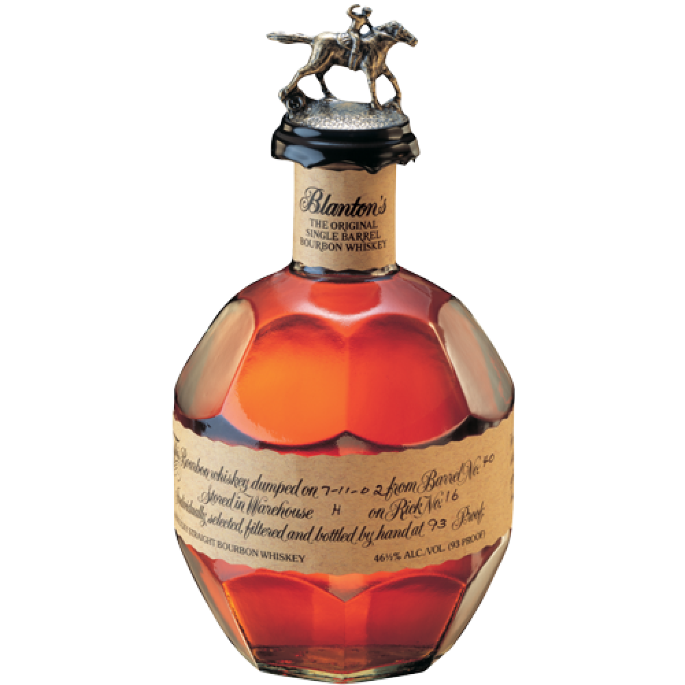Blantons Single Barrel Bourbon Whiskey