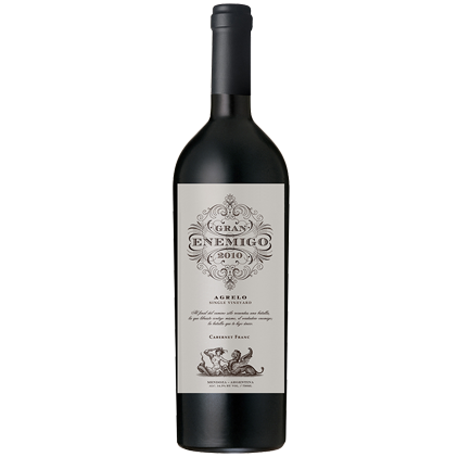 Bodega Aleanna Gran Enemigo Cabernet Franc 2010 Gualtallary Single Vineyard