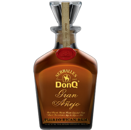 Don Q Gran Anejo Rum W/Ice Sphere 750ml
