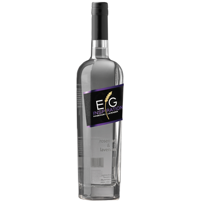 E.G. Inspiration Rosemary & Lavender Vodka 750ML