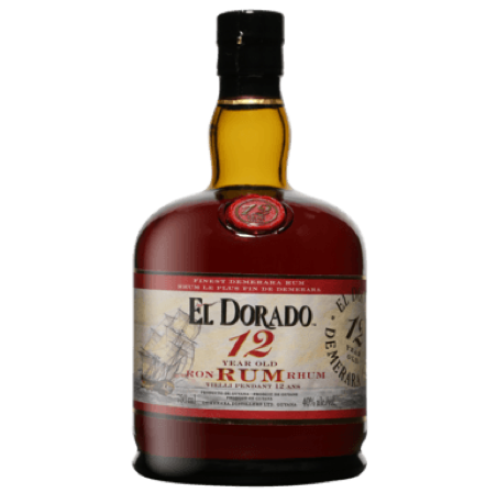 El Dorado 12Year Rum 750ml