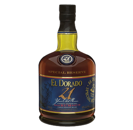 El Dorado 21Year Rum 750ml
