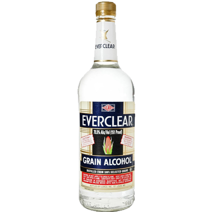 Everclear Grain Alcohol 750ml