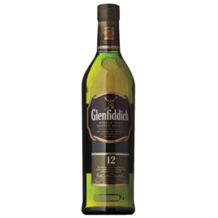 Glenfiddich 12YR Single Malt Scotch
