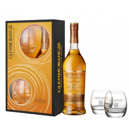 Glenmorangie 10YR Scotch Whisky w/ 2 glasses