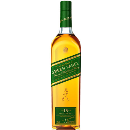 Johnnie Walker Green 15yr scotch 750ml