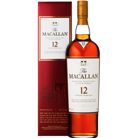 Macallan 12YR Single Malt 750ml