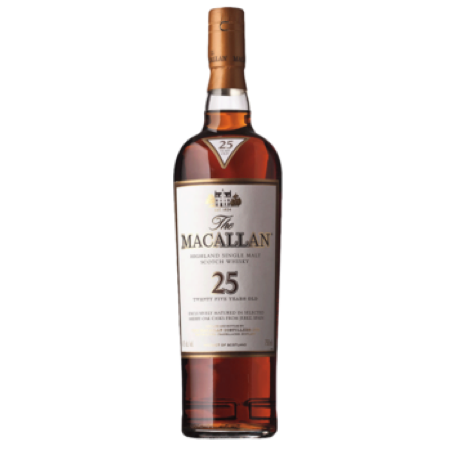 Macallan 25 Year Single Malt 750ml