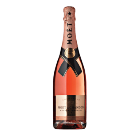 Moet & Chandon Imperial Nectar Rose Miami