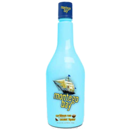 Montego Bay Coconut Rum 750ML