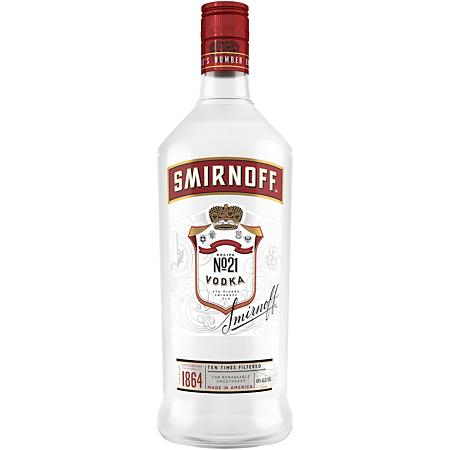 Smirnoff Vodka PET 1.75L