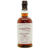 The Balvenie 15YR Single Barrel Sherry Cask Single Malt Scotch