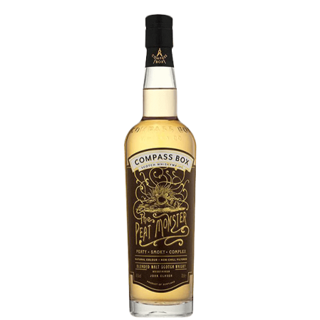 The Peat Monster Blended Malt Scotch 750ml