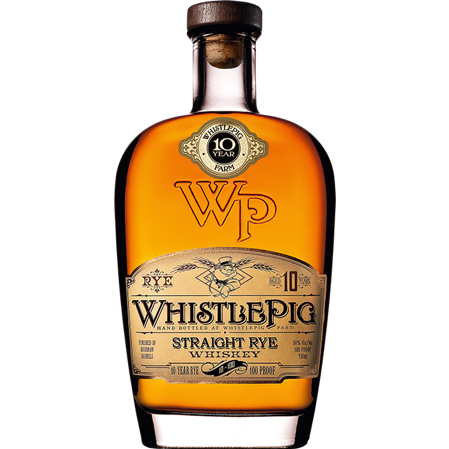Whistlepig Straight Rye Whiskey Aged 10 Years