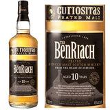 The Benriach 10YR Curiositas Peated Single Malt Scotch