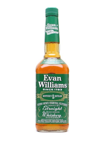 Evan Williams Bourbon Green