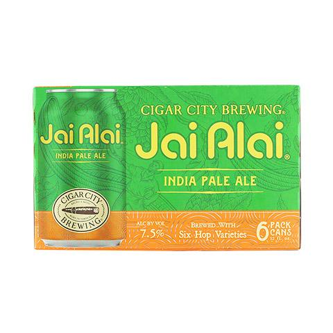 Cigar City Jai Alai 6 pack cans