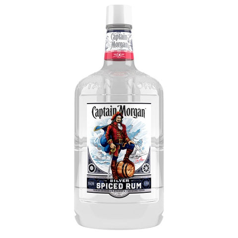 Captain Morgan Silver Spiced Rum 1.75ml